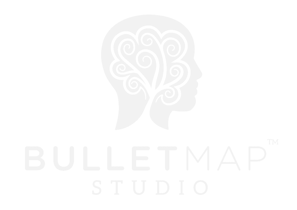 BulletMap Studio logo white